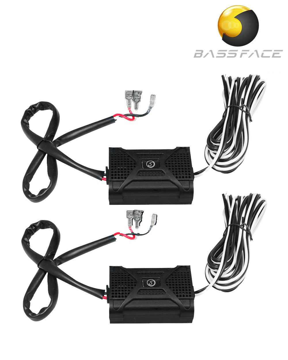 Bassface Car Audio The Specialists 1channel Dvc Wiring Diagram Blackspl1xover Passive 2 Way Crossovers For 5 6 Inch 13cm 17cm Coaxial
