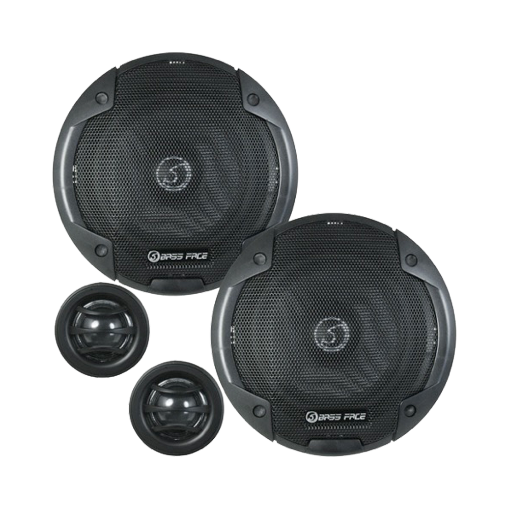 "BLACKSPL5C.1 5.25"" Inch 13cm 4Ohm Component Speaker & Tweeter Kit 400w RMS"