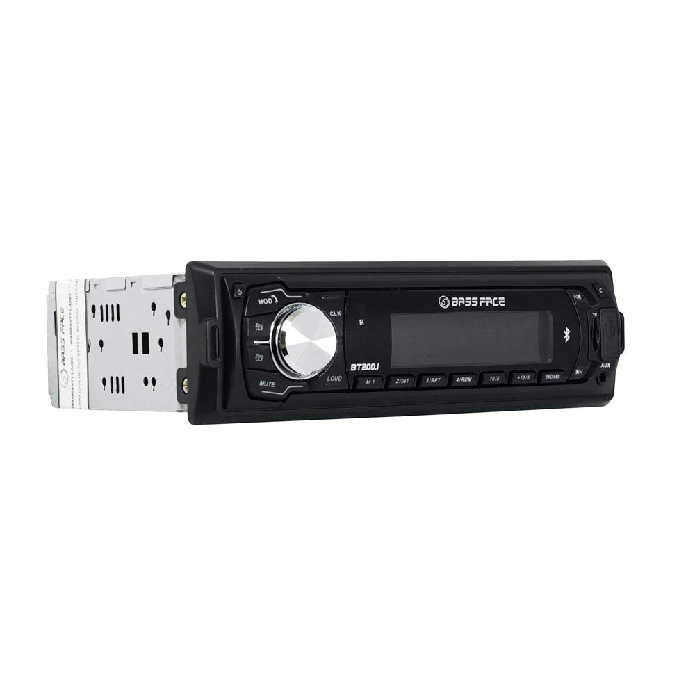 BT200.1 12v Single DIN Bluetooth Head Unit With MP3 AUX USB SD & Radio 120w RMS