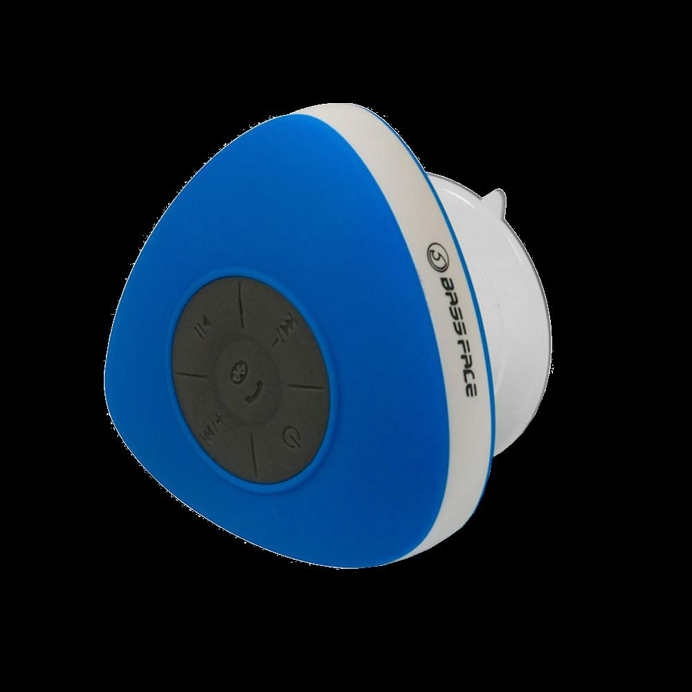 BTSW.1BLUE Rechargeable Waterproof Bluetooth Portable Speaker & FM Radio