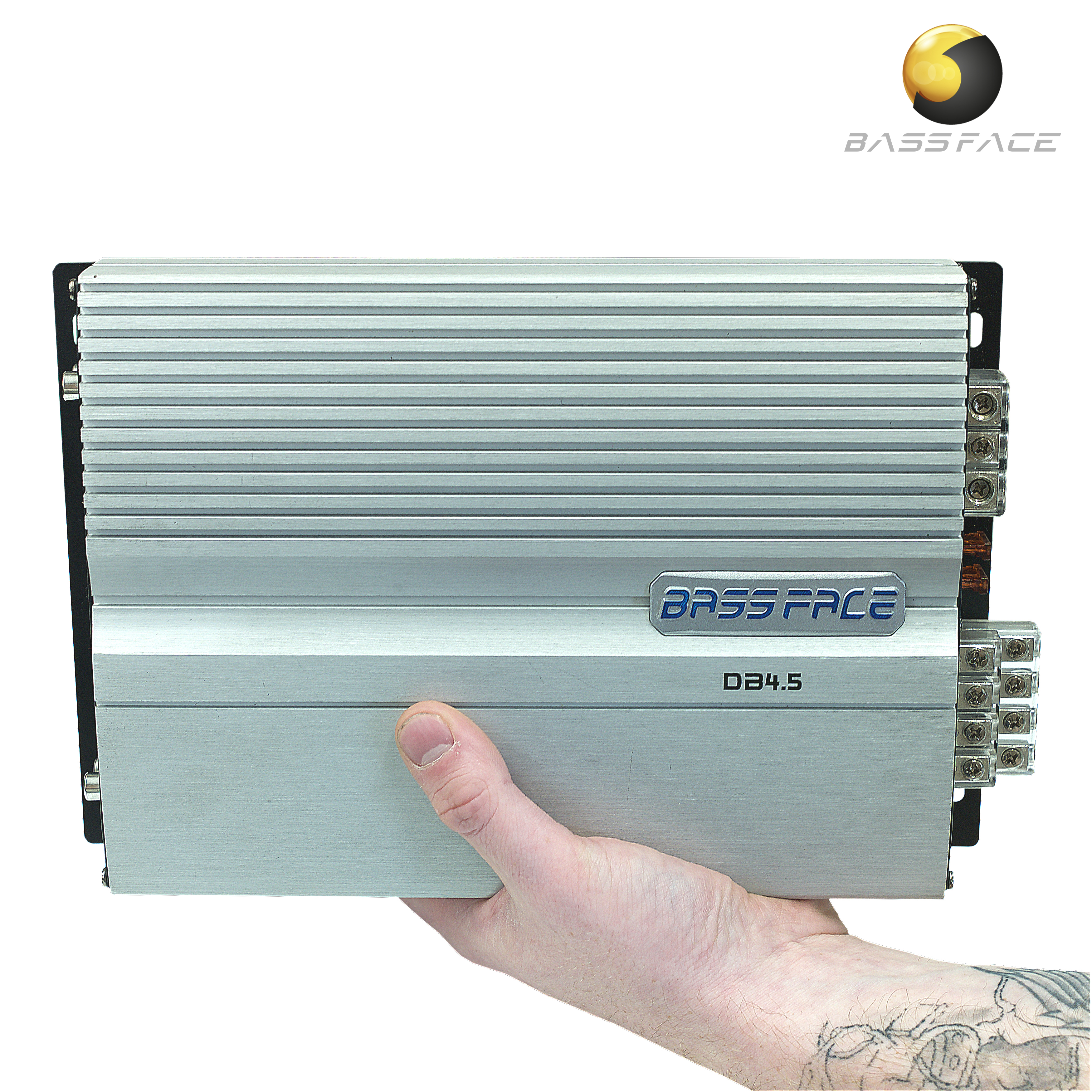 DB4.5 4/3/2 Channel Class D Bridgeable Mini Stereo 12v Power ...