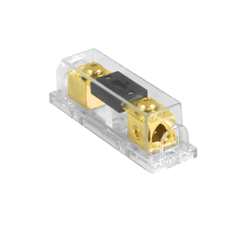 PFH.1 Gold Plated Fuseholder With 200A ANL Fuse 0/1AWG Inputs