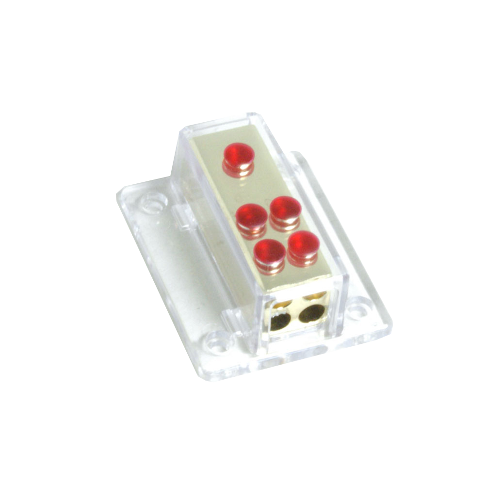 PWD048.1 Unfused Power Distribution Block 1x4AWG to 4x8AWG