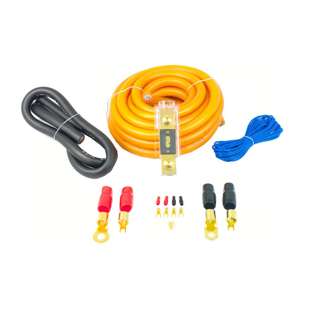 PWK0.1 0AWG 50mm High Flex 12v Amplifier Power Wiring Kit