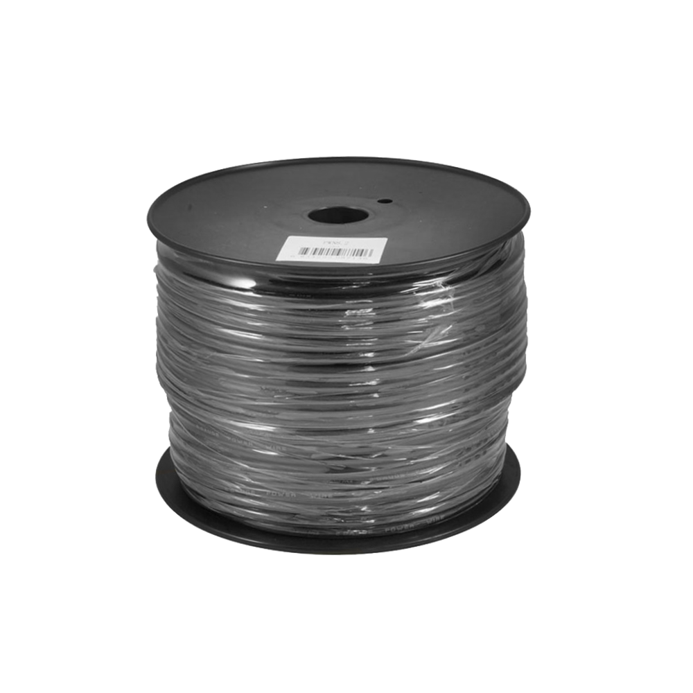 PWN8.2 75m Roll OFC 8AWG 8.4mm Black Negative Cable 728 Strand