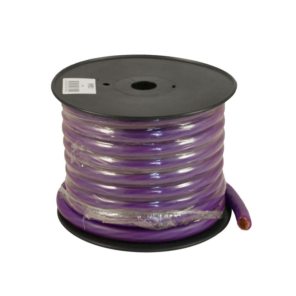 PWP0.2 15m Roll OFC 0AWG 53mm Purple Power Cable 5250 Strand