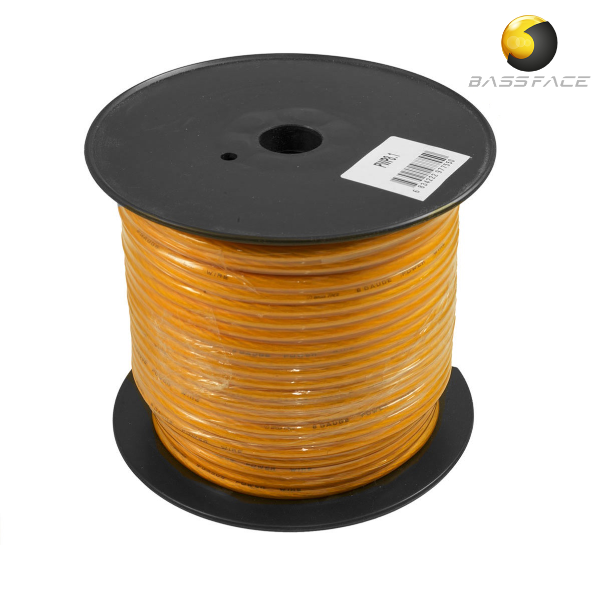 Bassface Car Audio The Specialists Best Wiring Kit For Amp Pwp81 75m Roll Cca 8awg 84mm Orange Power Cable 728 Strand