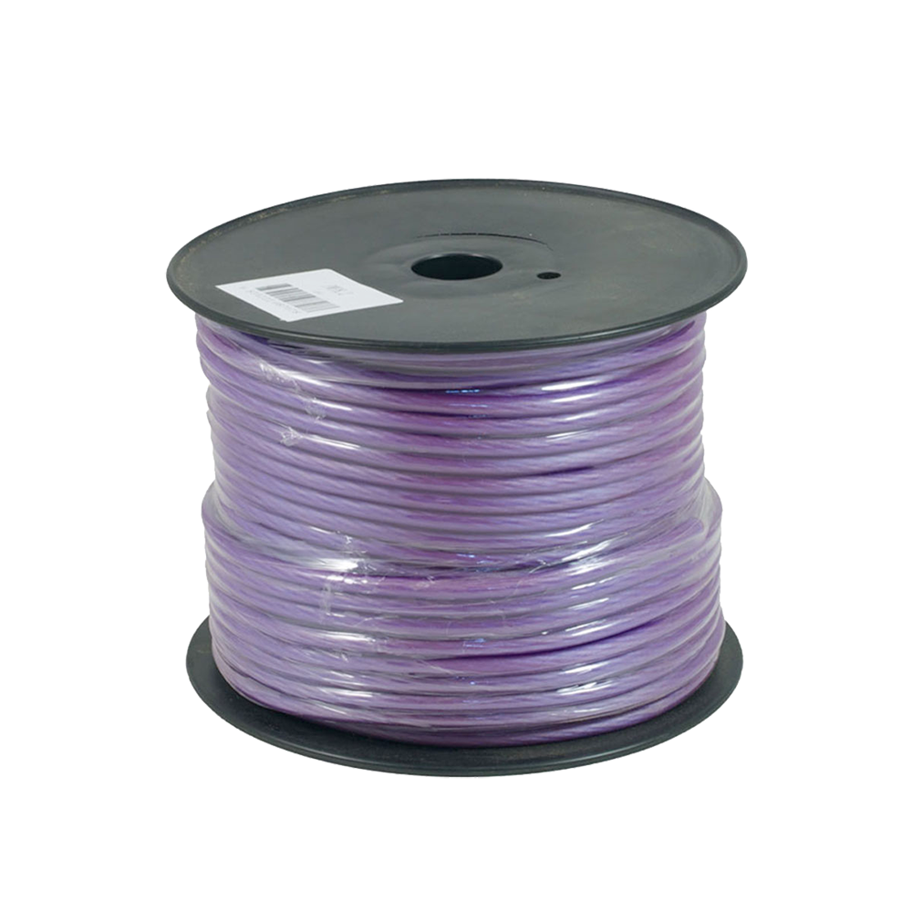 PWN8.2 75m Roll OFC 8AWG 8.4mm Purple Power Cable 728 Strand