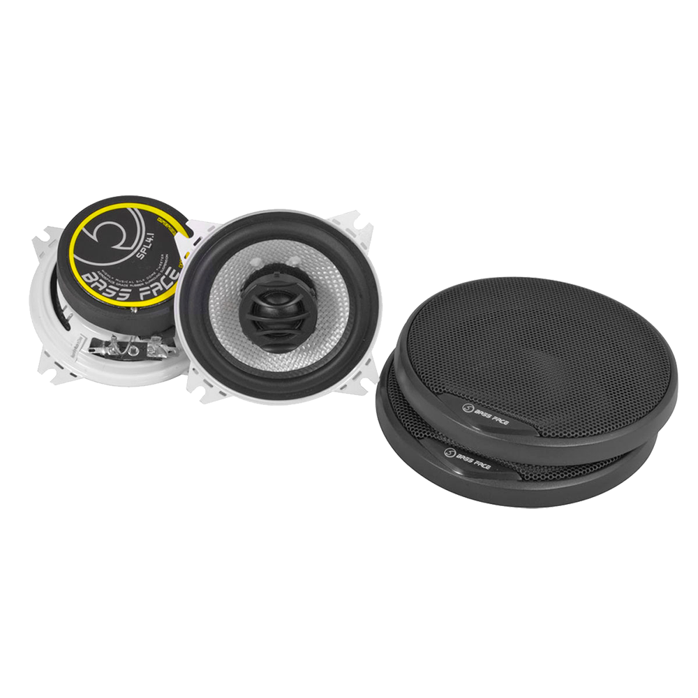 "SPL4.1 4"" Inch 10cm 4Ohm Coaxial 2 Way Speaker Pair 200w RMS"