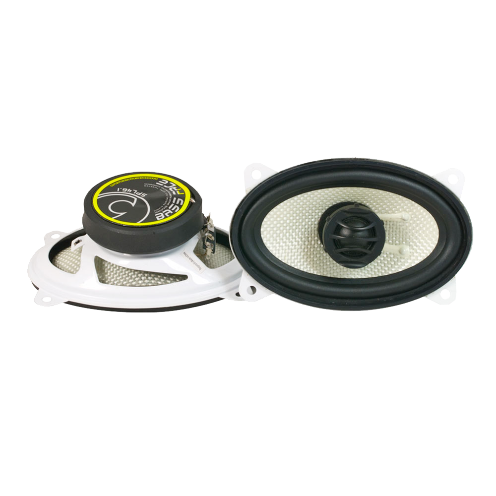 "SPL46.1 4x6"" Inch 10x15cm 4Ohm Coaxial 2 Way Speaker Pair 150w RMS"