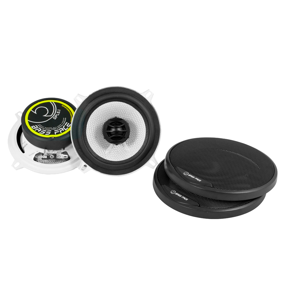 "SPL5.1 5.25"" Inch 13cm 4Ohm Coaxial 2 Way Speaker Pair 250w RMS"