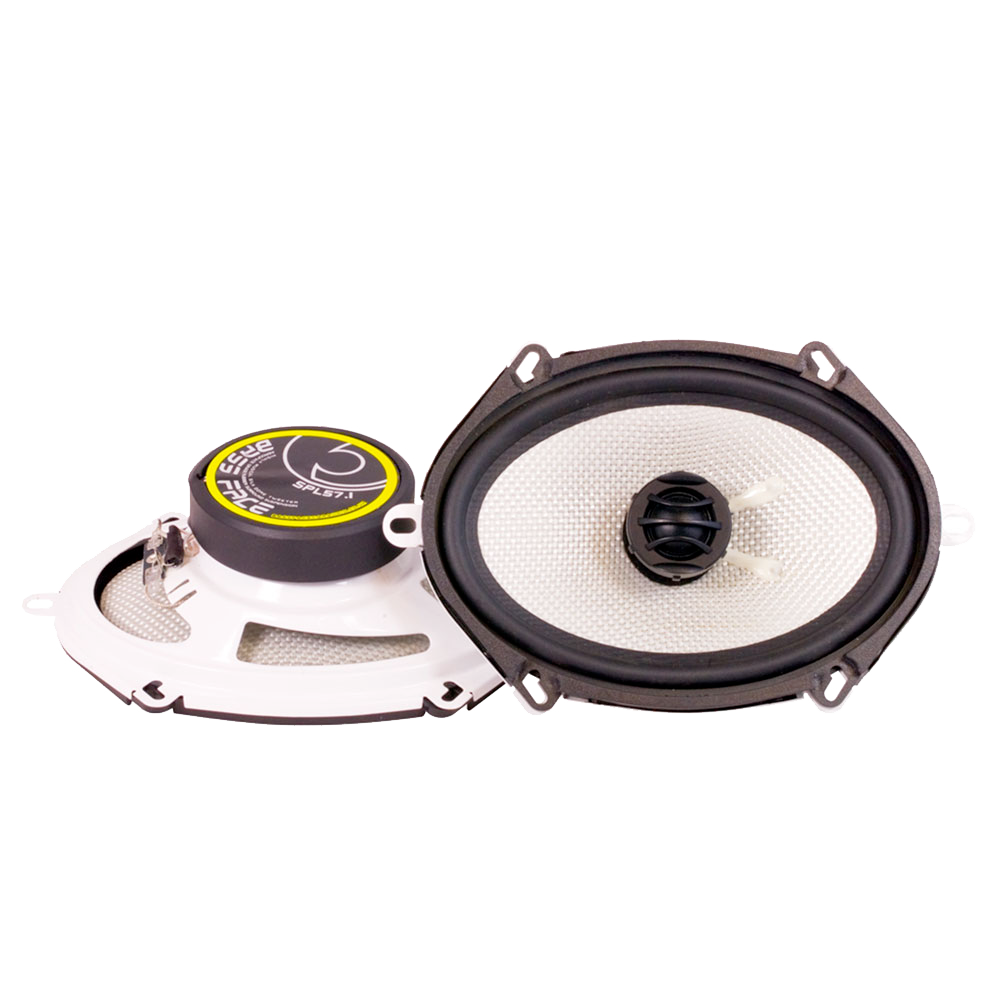 "SPL57.1 5x7 6x8"" Inch 14x19cm 4Ohm Coaxial 2 Way Speaker Pair 250w RMS"