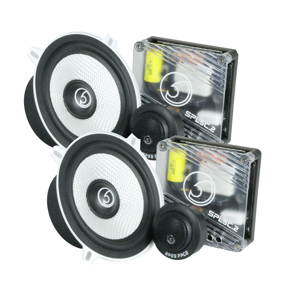 "SPL5C.2 5.25"" Inch 13cm 4Ohm Component Speaker & Tweeter Kit 350w RMS"