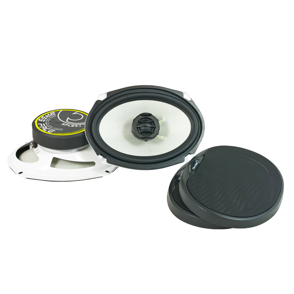 "SPL69.1 6x9"" Inch 15x23cm 4Ohm Coaxial 2 Way Speaker Pair 500w RMS"