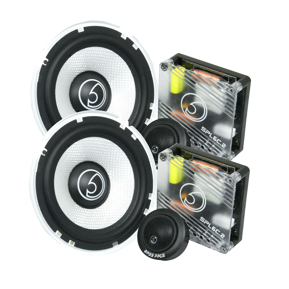 "SPL6C.2 6.5"" Inch 16.5cm 4Ohm Component Speaker & Tweeter Kit 450w RMS"