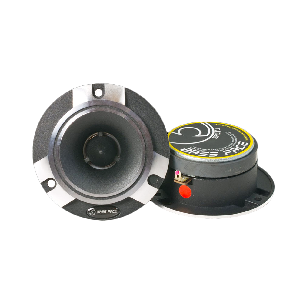 "SPLT.1 4"" Inch 98mm 4Ohm Titanium Bullet Tweeter Pair 300w RMS"