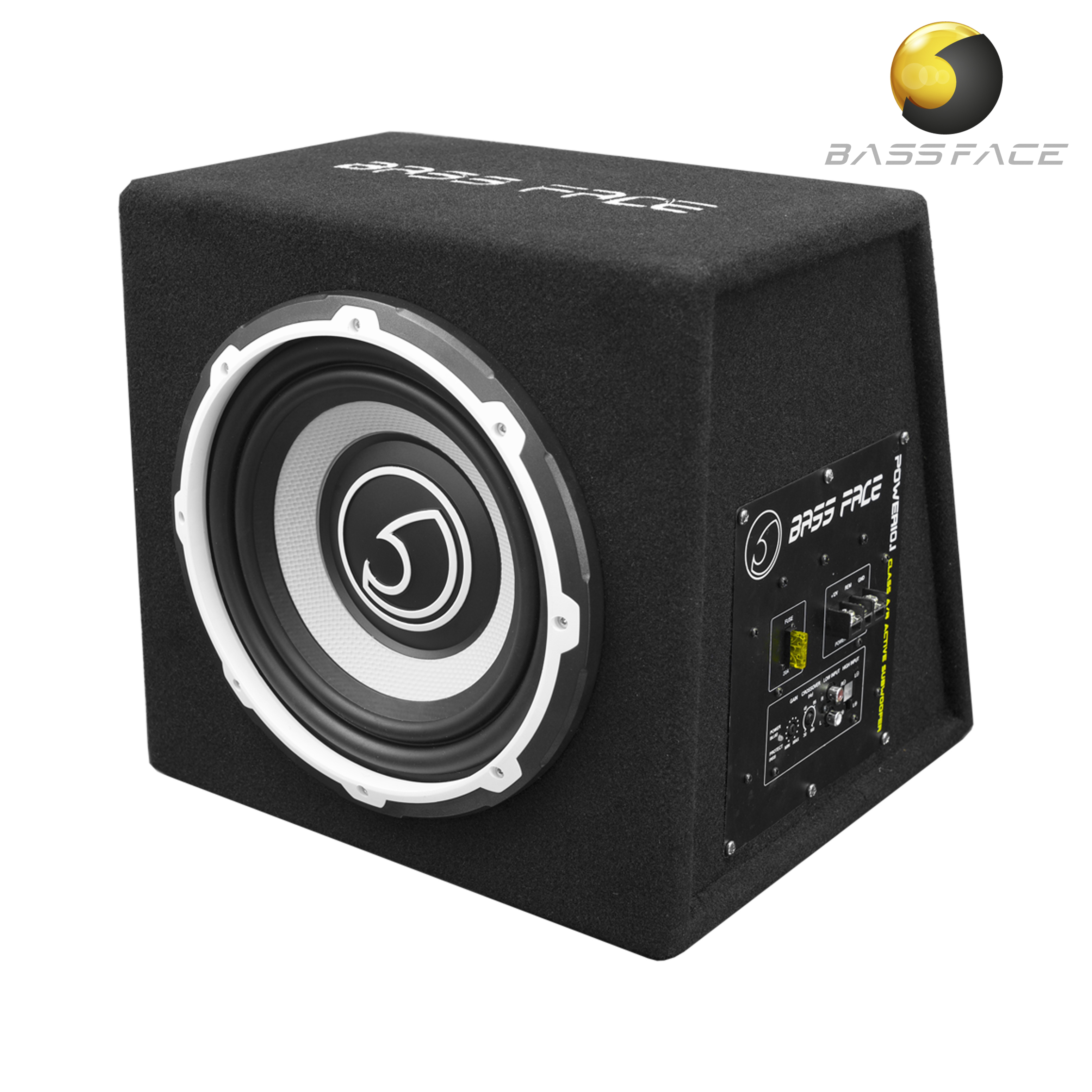 Power121 12 Inch 30cm Subwoofer Unit With Integrated 12v Power Amplifier Circuit Power101 10 25cm 500w Rms